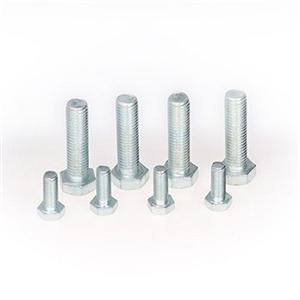 DIN933 Hex Head Bolts Black Zinc Full Thread