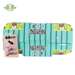 High Effective Pest Control Paper Board Cockroach Roach Sticker Trap