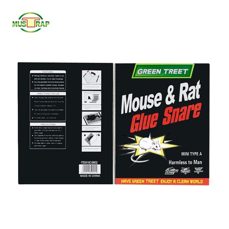 چگونگی استفاده آسان از تله چسب موش چسبنده
