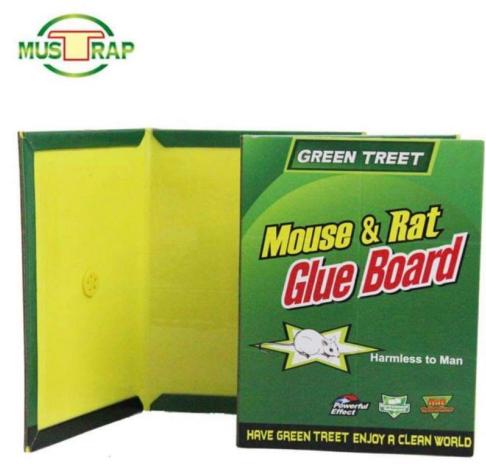 Quais são os métodos de uso e efeitos da ratoeira cola? Quais são as precauções?