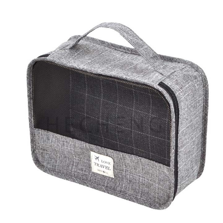 Travel Cosmetic Bag With Handle