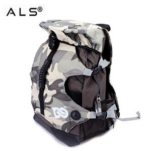 Skate Roller Shoe Backpack With Elastic Band