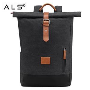 Wax Canvas Rolltop Backpack