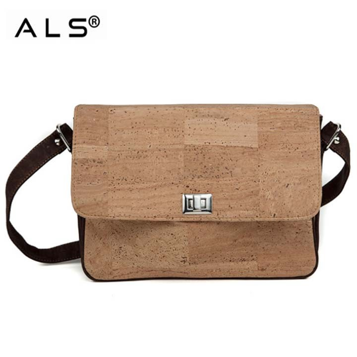 Multifunction Cork Messenger Bag