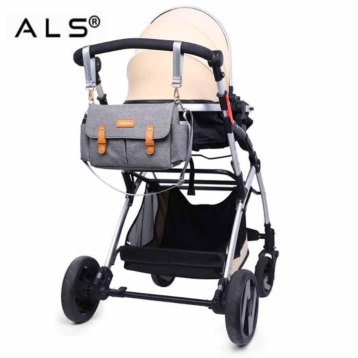 Baby Care Bag With Stroller Hooks