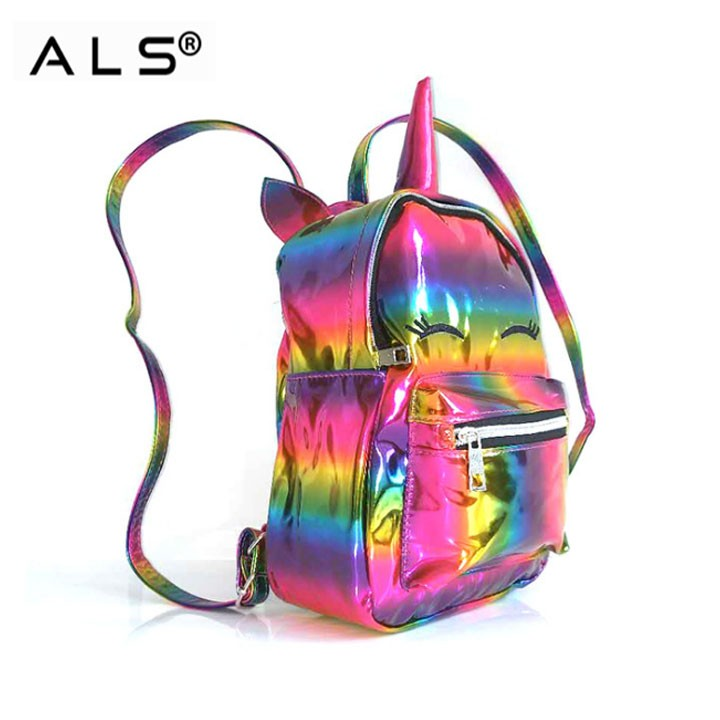 Colorful Glitter Backpack