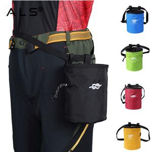 Chalk Bag with Belt For Climbing, Gymnastics, Weightlifting Bag With Bottle Holder