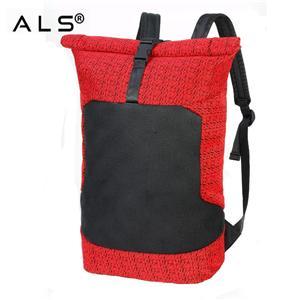 Large Capacity Waterproof Polyester Multifunctional Laptop Mochila Man Travel Rucksack Roll Top Backpack