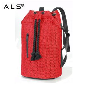 Designer barrel type roomy space tear-resistant polyester breathable large backpacks
