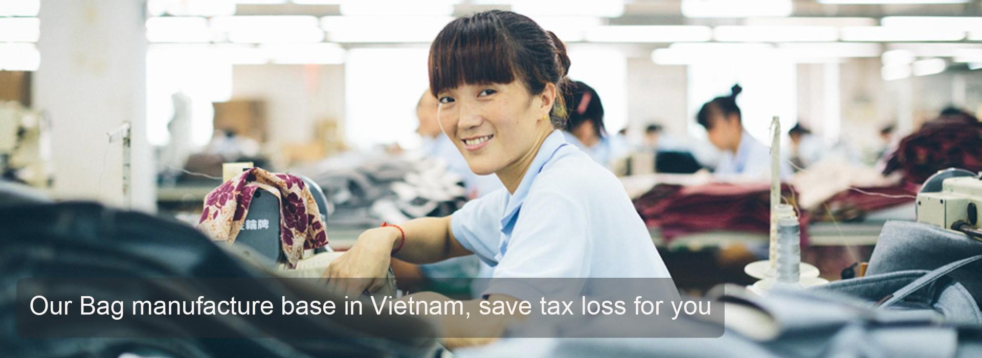 Bag Factory in Vietnam