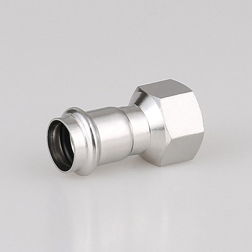 National Standard Dual-clamp Female Thread Direct Connector