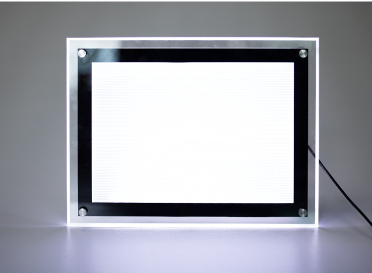 advertising Crystal LED Slim Light Box