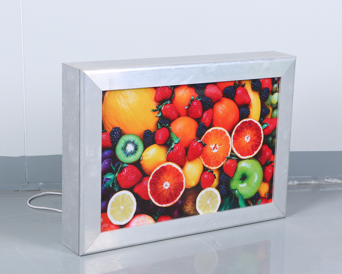Aluminum frame led light box