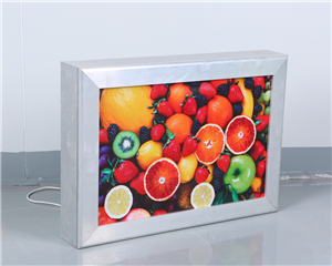 Aluminium Mudah Open Frame Led Display Cinema Light Box