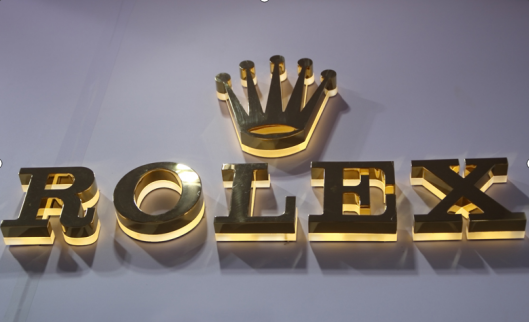 hollow out metal letter 3D sign