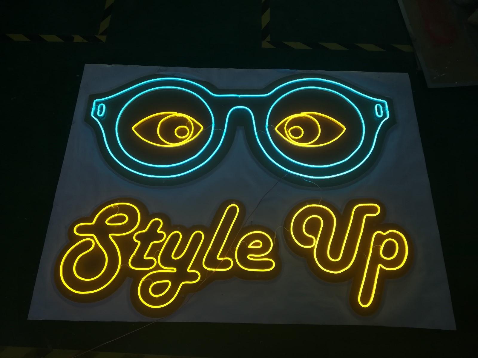 neon light letter led sign lighted signs