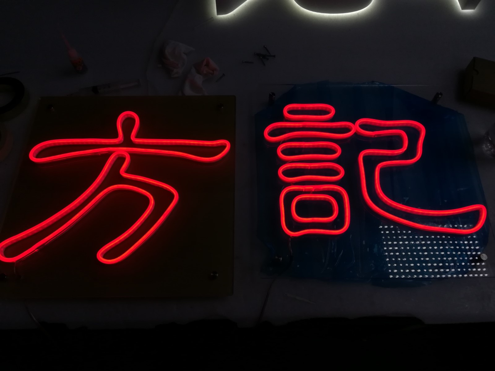 Advertising Acrylic LED Neon Signs