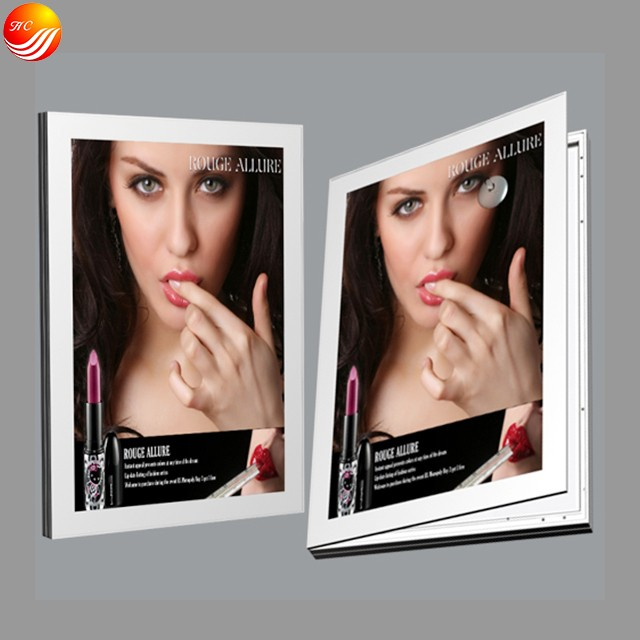 Double Side Aluminum Frame Magnetic Slim Led Light Box Manufacturers, Double Side Aluminum Frame Magnetic Slim Led Light Box Factory, Supply Double Side Aluminum Frame Magnetic Slim Led Light Box