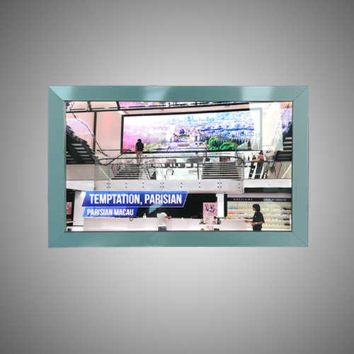 aluminum frame slim led display light box