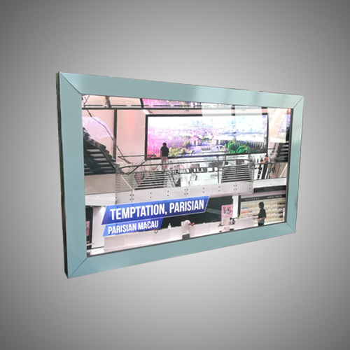 aluminum frame snap type light box