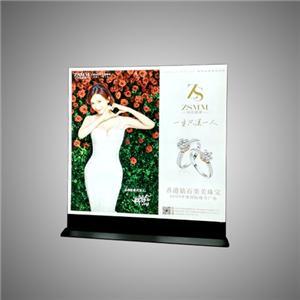 Ang tela na Aluminyo Libreng Nakatayo ng Framless LED Light Box