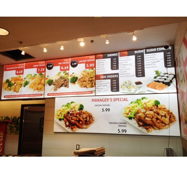 Advertising Led Frameless Light Box