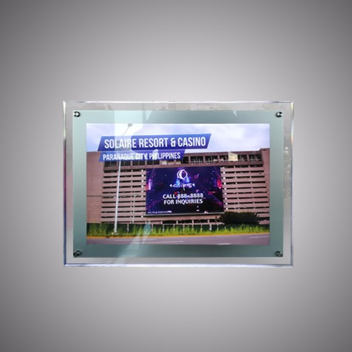 Ultra Slim Acrylic Crystal LED Light Box