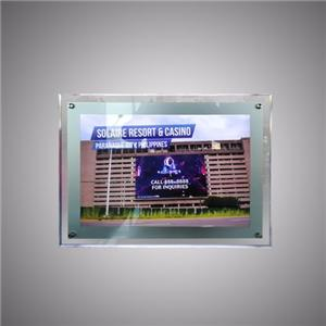 Ang Ultra Slim Acrylic Crystal LED Light Box