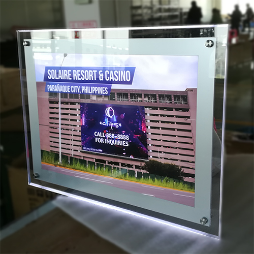 Ultra Slim Acrylic Light Box