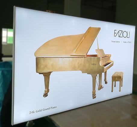 advertising Frameless fabric LED light box
