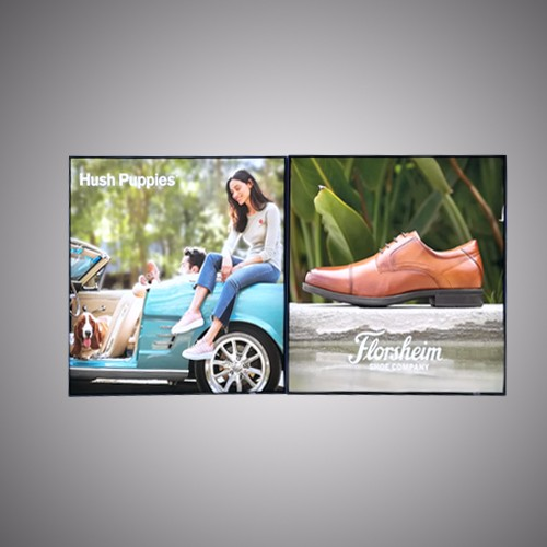 Pengiklanan Fabrik LED Backlit Lightbox Frameless