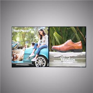 Advertising Tela LED Backlit Framless Lightbox