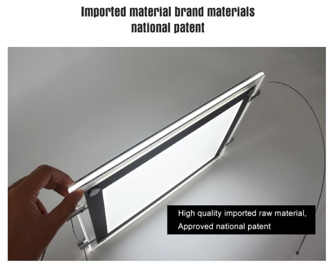 LED Crystal Light Box