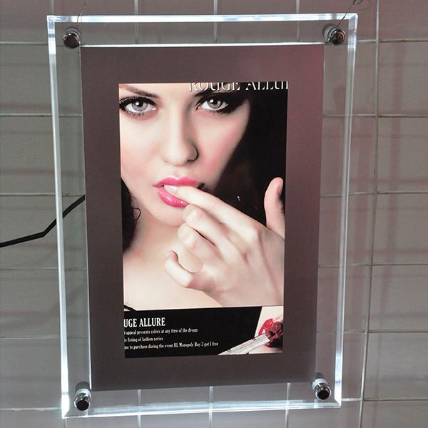 Acrylic Crystal slim light box