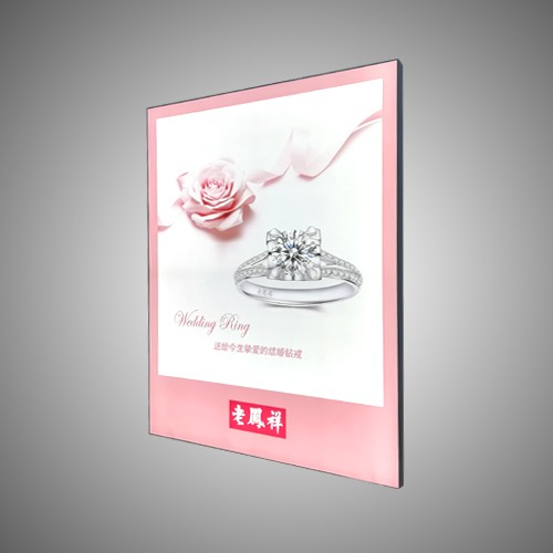 Static Advertising Frameless Frame LED Light Box Manufacturers, Static Advertising Frameless Frame LED Light Box Factory, Supply Static Advertising Frameless Frame LED Light Box