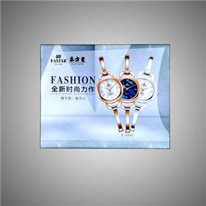 Led Backlit Frameless Frame Advertising Light Box