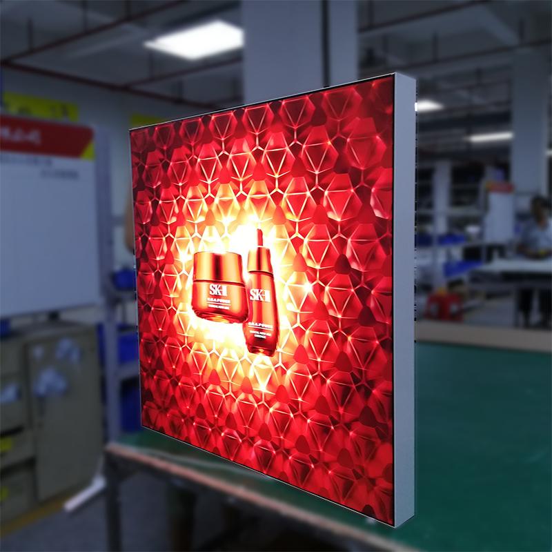 single side Frameless Fabric Lightbox