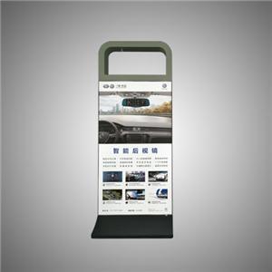 Ang Aluminum na Framless Tension Tela ay Libreng Standing Lightbox