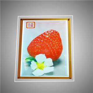 Acrylic LED Windows Display Crystal Slim Menu Light Box