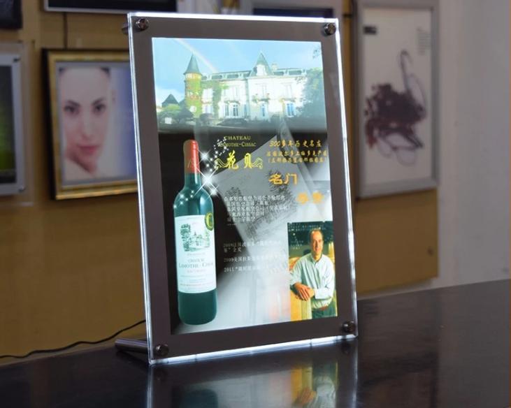 Super Slim LED Advertising Magnetic Light Box