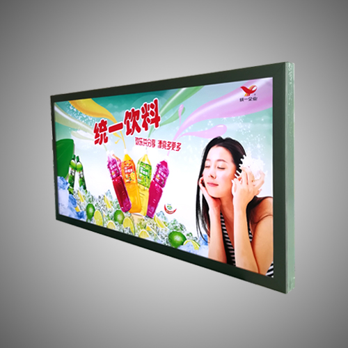 Aluminum advertising led light box