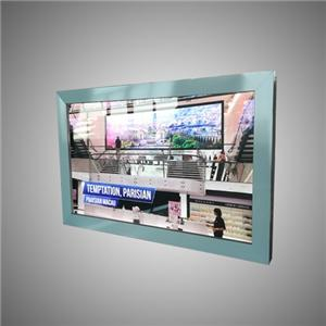 Carteles publicitarios de aluminio Snap On Led Slim Light Box