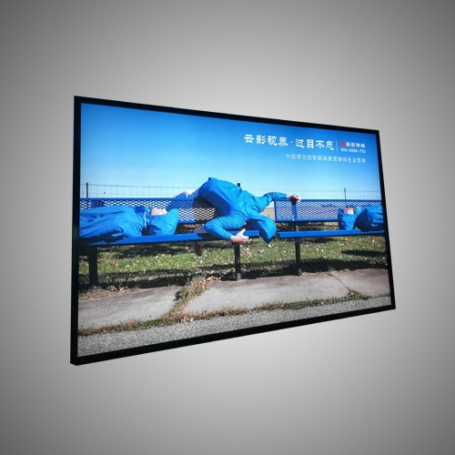 Outdoor Advertising Signs Aluminum Backlit Light Box