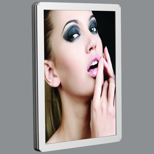 aluminum frame slim advertising board
