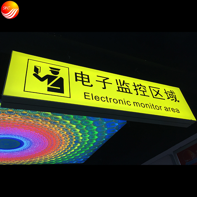 signage led direction light box and guide signs