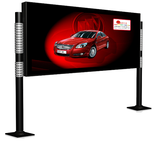 advertising scrolling poster display standing light box