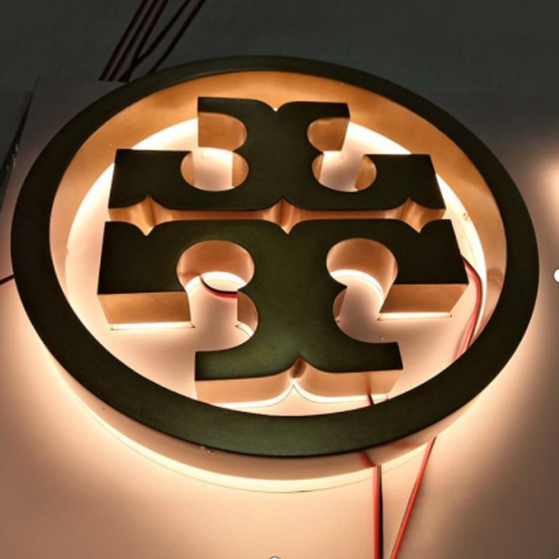 Металлический свободный постоянный освещенный указатель пластины знака