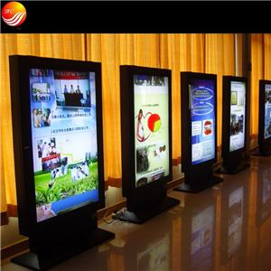 Double Sides Scrolling Advertising Aluminum Light Box