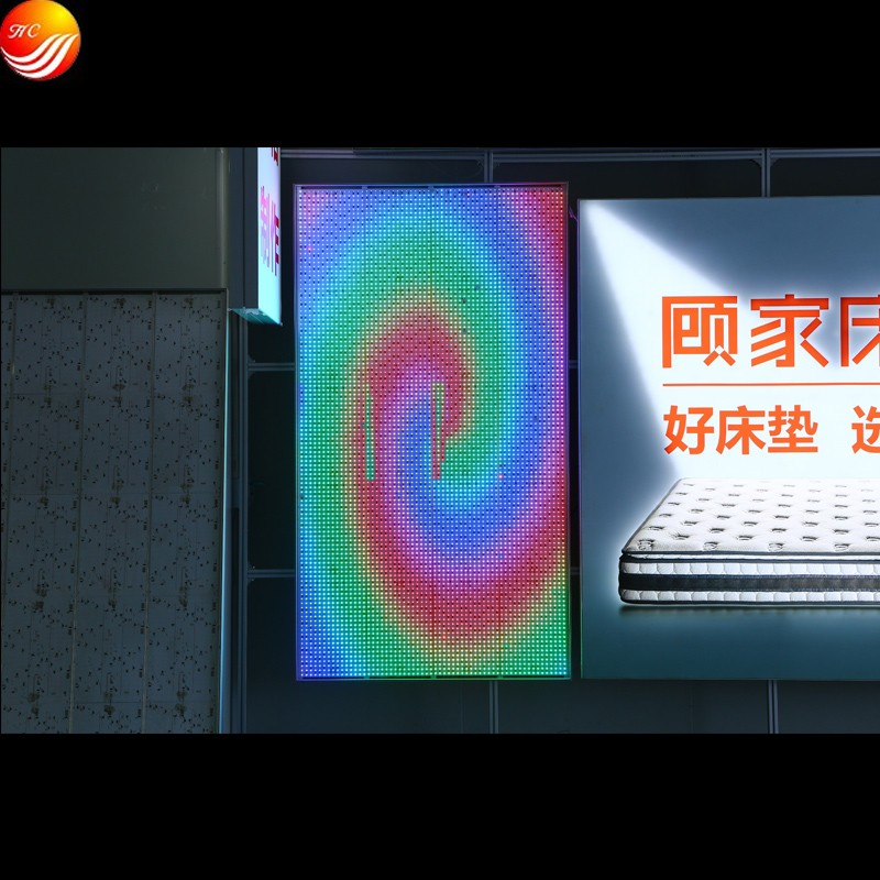 Wall Mounted Advertising Fabric Dynamic Led Light Box