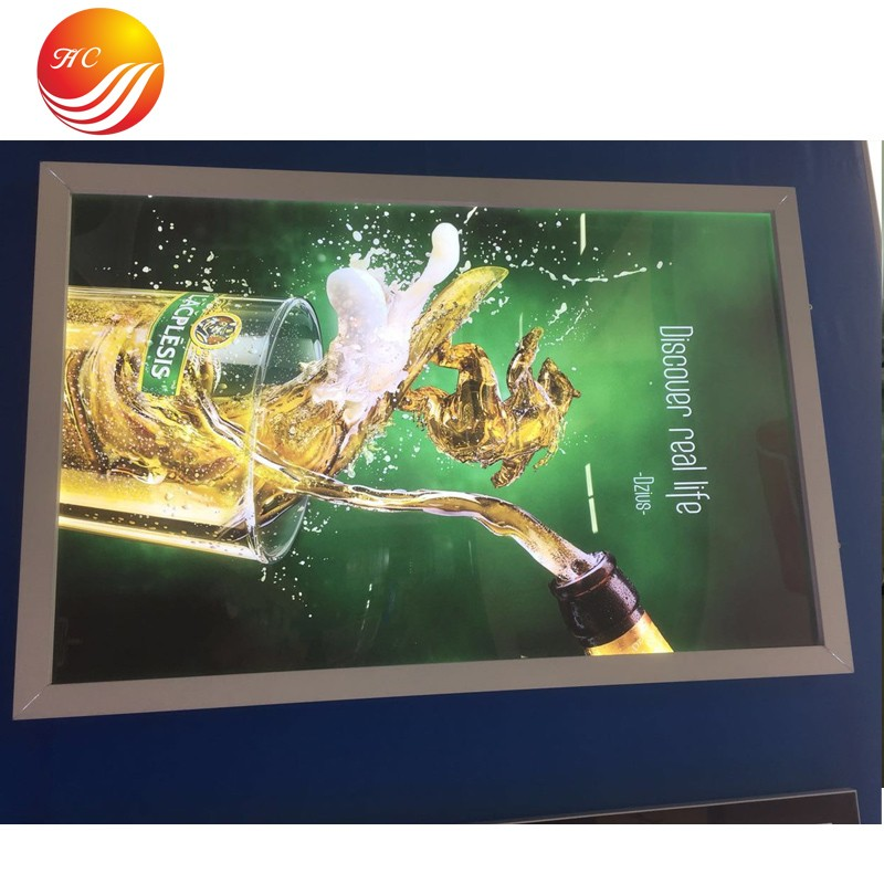 Aluminum Large Size Light Box Outdoor Led Display